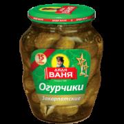 Дядя Ваня Огурцы Закарпатские 680гр 1/8 с/б