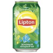 Бан.Липтон 0,33л зеленый чай  1/12
