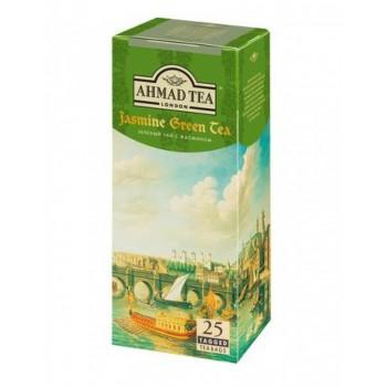 Ахмад чай зелен с жасмин 25 пак 1/12