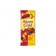 Альпен-голд 90 гр. сол, арахис/крекер. 1/20