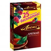 Лисма 100 пак Крепкий + 25пак Лес. ягода  1/6