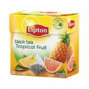 Липтон 20пак-пирамидок Тропичискые фрукты (Tropik Fruit) 1/12