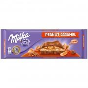 Милка 276гр Peanut Caramel 1/12 (милка с арахисом и карамелью)