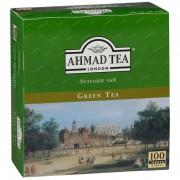 Ахмад чай зелен (корич) 100 пак 1/12