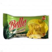 Кекс Belle 45гр в шок. глазури с банановым  джемом 1/24
