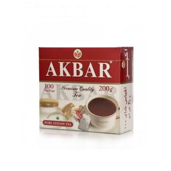 Акбар Чай 100 пак. 200 гр. 1/12