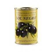 Маслины Солнегро с косточкой 480гр-24 (шт.)