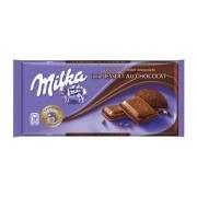 Милка  100гр. Dessert au chocolat 1/22 (шоколад с какао-начинкой)