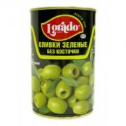 Оливки  LORADO зеленые б/к 314мл. 1/12