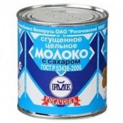 Сгущенное молоко Гост Рогачев 380гр 1/30