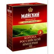 Майский чай корона рос имп 100 пак 1/6