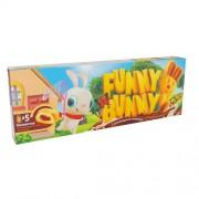 Пирожное биск. Funny Bunny  с нач. карамельной 150гр 1/12