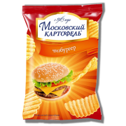 Московская картошка 70 гр Чизбургер 1/24