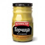 Горчица столовая 190гр Русская КУХМАСТЕР 1/12 ст. банка