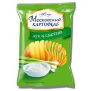 Московская картошка 130 гр. сметана лук, 1/16