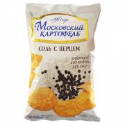 Московская картошка 60 гр соль с перцем 1/24