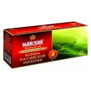 Майский чай корона рос имп 25 пак 1/27